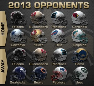 Saints-Schedule